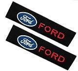 2 Piezas Calidad Bordado Cinturón de Seguridad Cubierta Hombre Pastillas Cinturón de Seguridad Amortiguador Kk000204