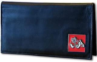 Siskiyou NCAA Fresno State Bulldogs Leather Checkbook Cover