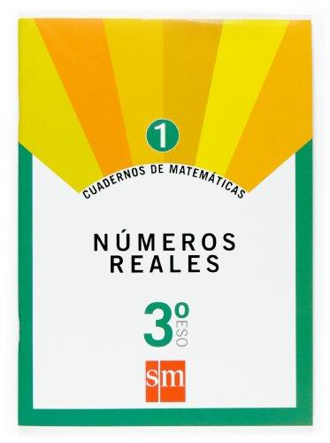 Cuadernos de matemáticas 1. 3 ESO. Números reales - 9788467515107