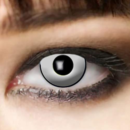 Leo Eyes Lentillas blancas, duración de 3 meses lentillas...