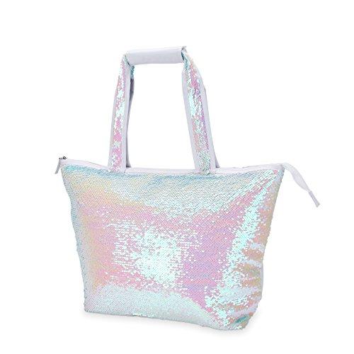 Blush 6328 Kühltasche mit Pailletten, Kunststoff, mehrfarbig