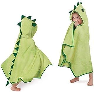 Cuddleroar Dragon Toddler Towel (Green)