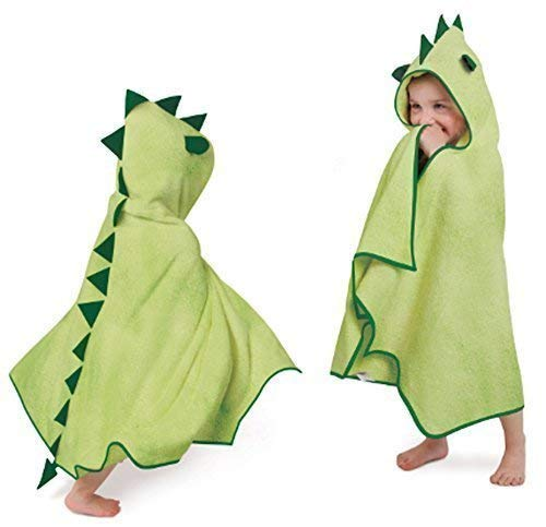 Cuddleroar Dragon Toddler Towel (Green)
