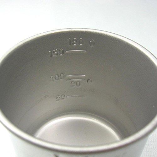 『アイデアセキカワ 18-8ステンレス お米の計量カップ 1合』のトップ画像