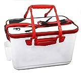 ZOUJUN Multifuncional Vivo Fsh Cubo, Pesca Bote de Fish Box EVA Portable de la Pesca Bolsa de Camping envase del Agua Bolsos de los trastos de Almacenamiento