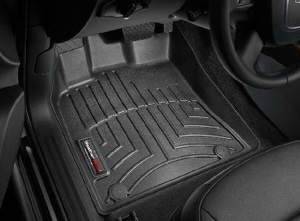 WeatherTech 2009-2015 Audi Q5 Black Floor Liner (Full Set)