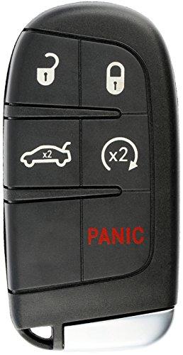 KeylessOption Keyless Entry Remote Car Smart Key Fob Starter for Dodge Dart Charger Challenger M3N-40821302