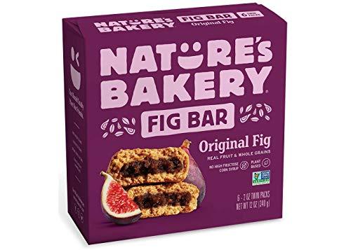Nature's Bakery Original Real Fruit, Whole Grain Fig Bar - 6 Bars (12 oz.)