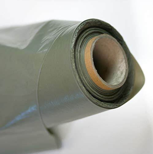 Baufolie transluzent, 4 x 25 m, Stärke echte 400 my (0,40 mm), auf 1 m gefaltet