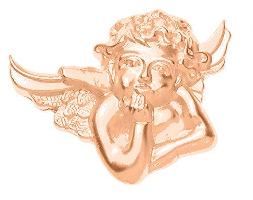 Treend24 Dames magnetische broche Amor engel roségoud sjaal clip klemmen magneetbroche poncho zakken steel textiel sieraden uil hart ster