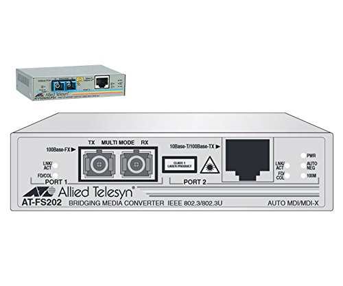 ALLIED AT-FS202-90 - Allied Telesis AT-FS202 Fast Ethernet Media Converter - 1 x Netw