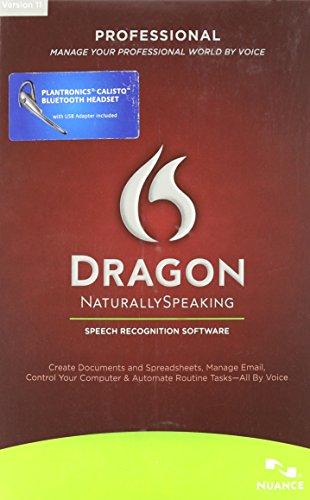 Dragon Naturallyspeaking Professional 11.0 Us Bluetooth [Old Version]