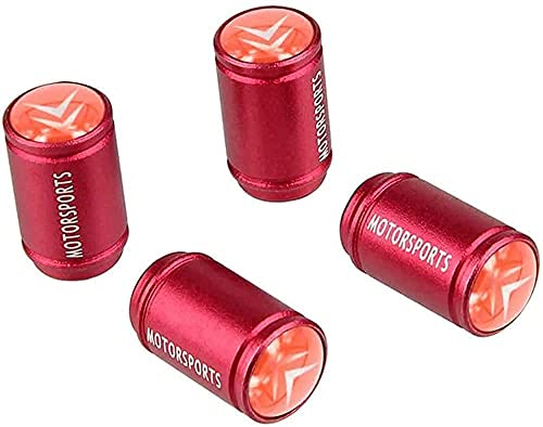 4 Piezas Coche Rueda Neumático Válvula Tapas para Citroen Logo C2 C3 C4 C5 C6 C4l Ds3, Car Impermeable Herrumbre Anti-Polvo Antirrobo con Logo Accesorios