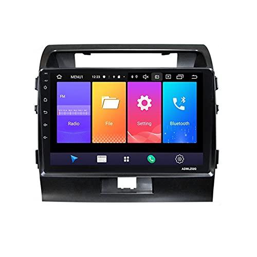 ADMLZQQ para Toyota Prado Land Cruiser 200 2008-2015 Android 9.0 Radio Coche Estéreo Navegación GPS De 9 Pulgadas, FM/Bluetooth/Controles del Volante/Cámara De Visión Trasera,M150 2g+32g
