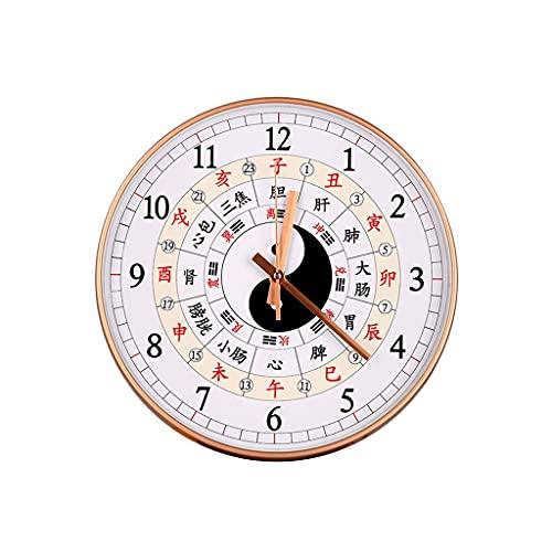 Orologio Da Parete Orologio da parete BAGUA orologio Tai Chi Bussol clock home soggiorno camera da...