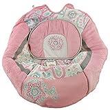 Fisher Price Swing Replacement Parts, Pad, Adaptor, Straps (CDG12 Cradle n Swing Pink Petals)