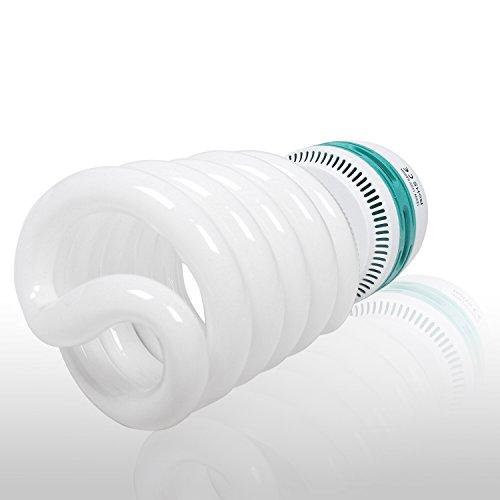 Emart 105 Watt Full Spectrum Photography Lighting Photo Studio Light Bulb, 5500K CFL Daylight Balanced - 4 Pack