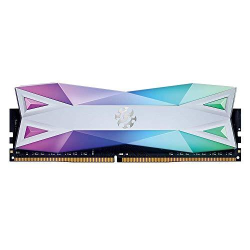 XPG DDR4 D60G RGB 16GB (2x8GB) 3000MHz PC4-24000 U-DIMM CL16 Desktop Memory White (AX4U300038G16A-DW60)