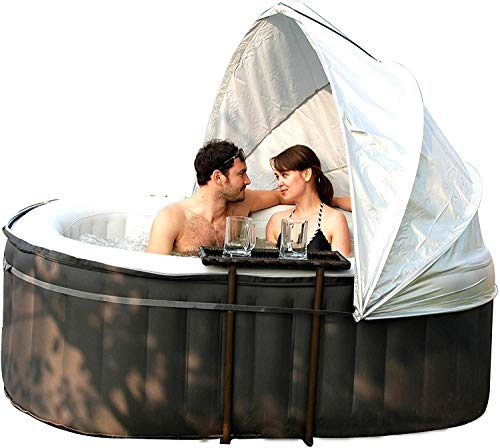 MSpa Canopoy Inflatable Canopy Hot Tub Accessories One Size Fit Spa 180CM, Coloured