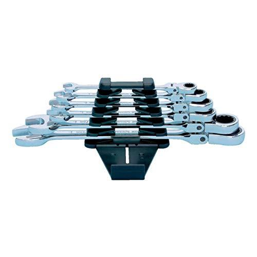 WURTH 071425350 8 10 12 13 17 19 Maulschlüssel, mit Gelenkkopf, robust und flexibel, 180 °