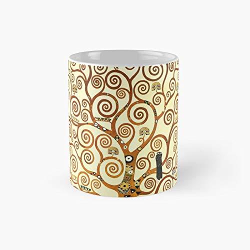Hd The Tree Of Life 1905 By Gustav Klimt - High Definition Classic Mug Best Gift Funny Coffee Mugs 11 Oz