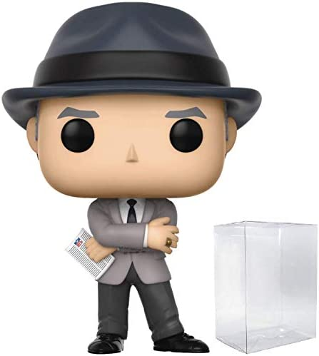 NFL Legends Tom Landry Cowboys Coach Pop Vinyl Figure and Bundled with Pop BOX PROTECTOR CASE product image