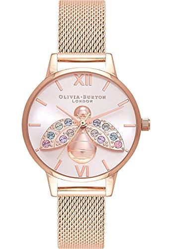 Olivia Burton Damen-Uhren Analog Quarz One Size 88220005