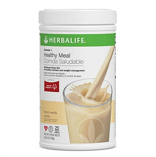 Herbalife Formula 1 Healthy Meal Nutritional Shake Mix (10 Flavor) (French Vanilla)