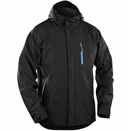 Blåkläder Workwear Regenjacke 4866, M, schwarz, 1 Stück, 67-48661946-9900-M