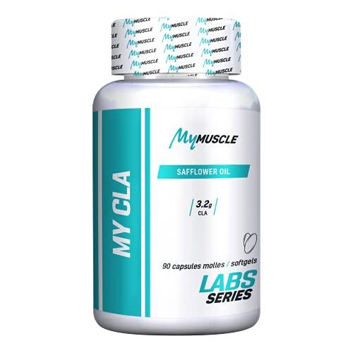 MyMUSCLE - My CLA - Formule d'Acide Linoléique Conjugué et d'Huile de Carthame - 90 Capsules Molles