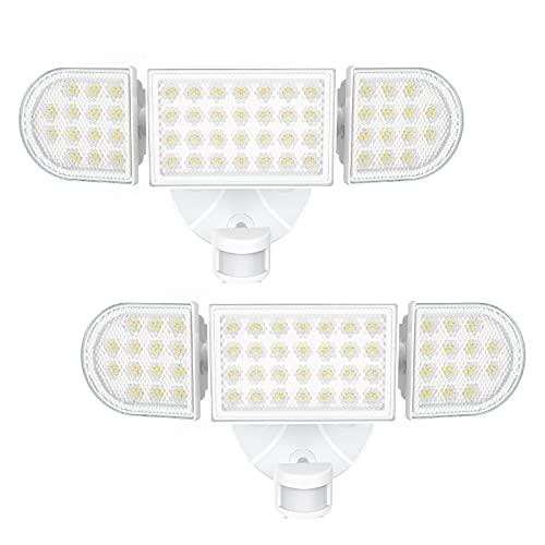 iMaihom 55W LED Motion Sensor Security Light, 5000lm Outdoor Flood Light Super Bright, IP65...