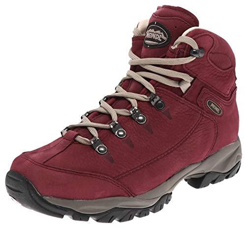 Meindl Damen Wanderschuhe Ohio Lady 2 Leder Hikingschuhe Rot 37 EU