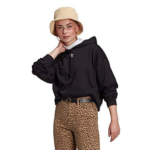 adidas Originals weiblich-erwachsen Hoodie Kapuzenschweiß, Black, 36