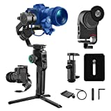 MOZA AirCross 2 Professional Kit Handheld Stabilizer with iFocusM Motor Lightweight Gimbal Up to 7Lb Auto-Tuning Intuitive Control Panel 12H Runing Time【One Year Warranty】