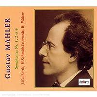 Mahler: Symphonies 1, 2 & 4