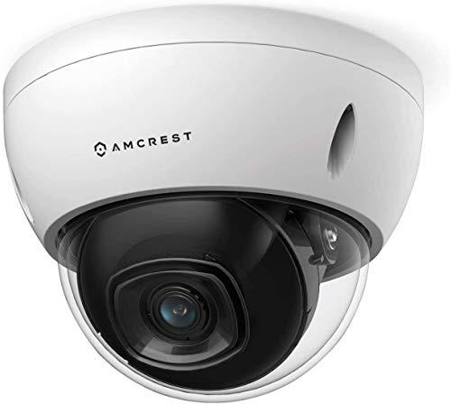 Amcrest Fotocamera POE 5MP POE-IP IP da esterno, 5 Megapixel, NightVision, obiettivo da 2,8 mm, IP67, resistenza IK10, MicroSD 256 GB (venduta separatamente), Cloud (IP5M-D1188EW-28MM)