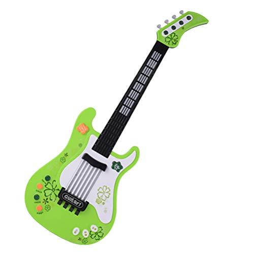 Artibetter Juguetes de Guitarra para Niños Pequeños Juguete Eléctrico para Principiantes Guitarra...
