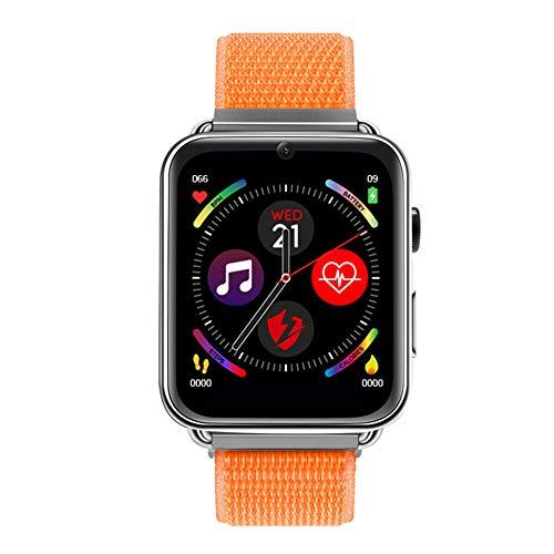 YDM Fit Bit, 4G Smart Watch, 7.1 3G RAM 32G ROM 1,88 Zoll Großer Schirm LTE 4G SIM Kamera GPS WiFi Herzfrequenz Für Android,Orange,3G+32G