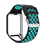 Compatible with Tomtom Spark 3 / Runner 2 3 / Golfer 2 Watch Band Replacmenr Silicone Straps...