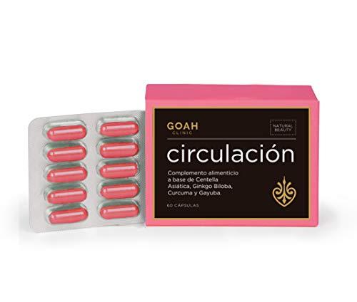 Circulación – Goah Clinic, Cosmética en cápsulas, Nutricosmética para mejorar la circulación