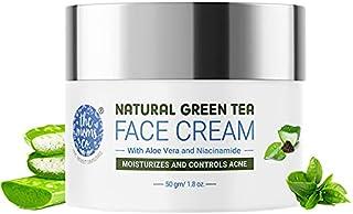 The Moms Co. Natural Green Tea Face Cream l Light Weight l Non-Greasy l Hydration l Controls Acne & Redness l Green Tea l ...
