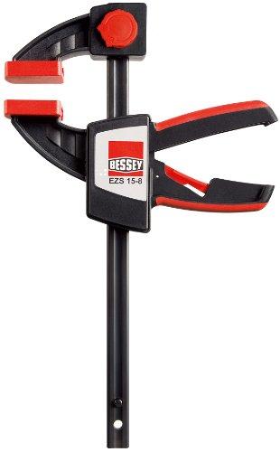 Bessey EZS15-8 Einhandzwinge EZS 150/80, Mehrfarbig, Spannweite 150 mm