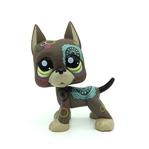 Pet Shop Juguetes LPS Raras de pie Forma máscara de Gato de
