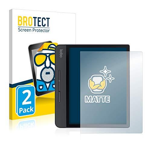 BROTECT 2X Entspiegelungs-Schutzfolie kompatibel mit Kobo Forma Displayschutz-Folie Matt, Anti-Reflex, Anti-Fingerprint