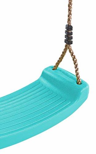 Schaukelsitz mit Seil Kinderschaukel belastbar bis 70KG Brettschaukel Schaukelbrett Spielturmzubehör Schaukelzubehör