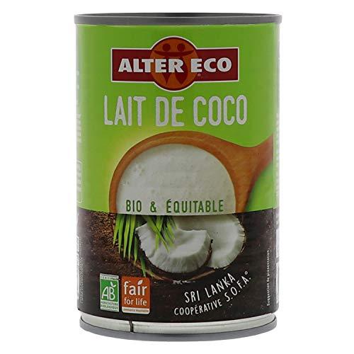 Alter Eco Aide Culinaire au Lait de Coco Bio & Équitable - 400 ml