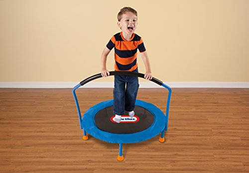 Trampolines are great indoor toys for active kids