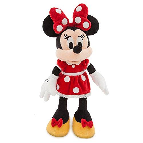 Disney ディズニー Minnie Mouse Plush ミニーマウス ぬいぐるみ レッド 中サイズ 18インチ 46cm 2018 [並行輸入品]