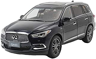 GAOQUN-TOY Car Model 1:18 Infiniti QX60 Alloy Car Die Casting Model Decoration Boy Gift (Color : Blue, Size : 27.5cm12.5cm10cm)