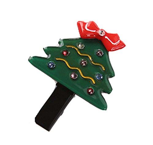 5 pièces Noël Dessin animé Pinces à cheveux Mignon Pinces à cheveux, 4.5*3.5 cm